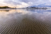 Ripples in the Sand on Long Beach in Tofino — Stock Photo