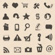 Web icons hand drawn - Stock Vector