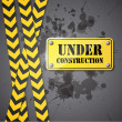Under construction sign — Stock Vector #24790847