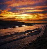 Dramatic sunset colors at Johore, Malaysia — Stock Photo