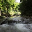 Stock Photo: River in rainforest at Borneo, Sabah, Malaysia