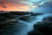 Seascape at the Tip of Borneo, Sabah, Malaysia — Foto de Stock