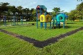 Spielplatz umgeben mit der natur — Stockfoto