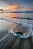 Seascape at Borneo, Sabah, Malaysia — Stockfoto