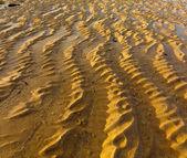 Wavy sand pattern — Stock Photo