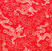 Asian dragon pattern — Stock Photo