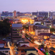 Stock Photo: Cityscape at twilight in Sabah, Borneo, Malaysia