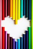Love colors — Stock Photo