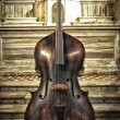 Old Cello - Stock Photo