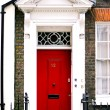 Stock Photo: British Door