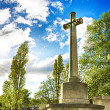 Sunny Cemetery — Stock Photo