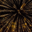 Yellow Fireworks — Stock Photo