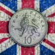 Stock Photo: Ten Pence