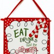 Eat Drink And Be Merry — Stock Photo
