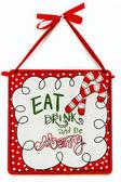 Jeść pić i się bawić — Zdjęcie stockowe