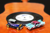Blues and Rock Cars — Stock Photo
