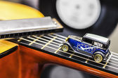 Blues Car — Stock Photo