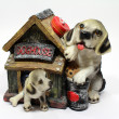 Souvenir piggy Dog House — Stock Photo