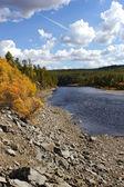 Chulman River in South Yakutia — Stock Photo