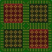 Patroon van vignet — Stockvector