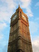 El big ben. Londres, Inglaterra. — Foto de Stock