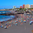 Stock Photo: Puerto de lCruz , PlayJardin ,Tenerife ,CanariIslands