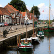 Stock Photo: City of Ribe, Denmark