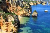 Ponta de Piedade in Lagos, Algarve coast in Portugal — Photo