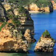 Ponta de Piedade in Lagos, Algarve coast in Portugal — Stock Photo