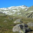 Snow gredos mountains in avila spain — Stock Photo
