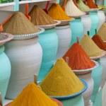 Spices at the market Marrakech, Morocco — Stock Photo #34226265