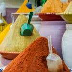 Spices at the market Marrakech, Morocco — Stock Photo