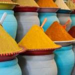 Spices at the market Marrakech, Morocco — Stock Photo #34226531