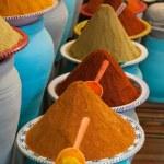 Spices at the market Marrakech, Morocco — Stock Photo #34226597