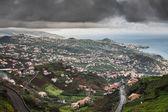 Village on the south coast of Madeira island, Câmara de Lobos - Portugal — Stock Photo