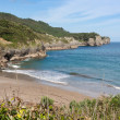 Beach of Pechon, Cantabria, Spain — Stock Photo #38672095
