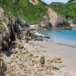 Beach of Pechon, Cantabria, Spain — Stock Photo #38672713