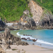 Beach of Pechon, Cantabria, Spain — Stock Photo #38672865