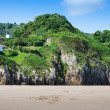 Beach of Pechon, Cantabria, Spain — Stock Photo #38672903