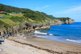 Beach of Pechon, Cantabria, Spain — Stock Photo