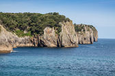 Beach of Pechon, Cantabria, Spain — Stock Photo