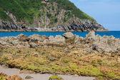 Playa de pechón, cantabria, españa — Foto de Stock