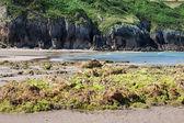 Plaża pechón, cantabria, hiszpania — Zdjęcie stockowe