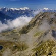 Alpine Alps mountain landscape at Jungfraujoch, Top of Europe Sw — Stock Photo #39017977