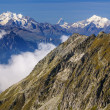 Alpine Alps mountain landscape at Jungfraujoch, Top of Europe Sw — Stock Photo #39018123