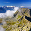 Alpine Alps mountain landscape at Jungfraujoch, Top of Europe Sw — Stock Photo #39018515