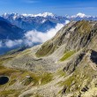 Alpine Alps mountain landscape at Jungfraujoch, Top of Europe Sw — Stock Photo #39019051