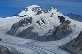 Aletch the longest glacier in Alps — Стоковое фото
