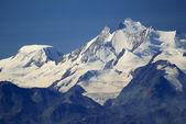 Alpine Alps mountain landscape at Jungfraujoch, Top of Europe Sw — Stock Photo
