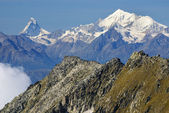 Matterhorn peak, Zermatt, Switzerland — Stockfoto